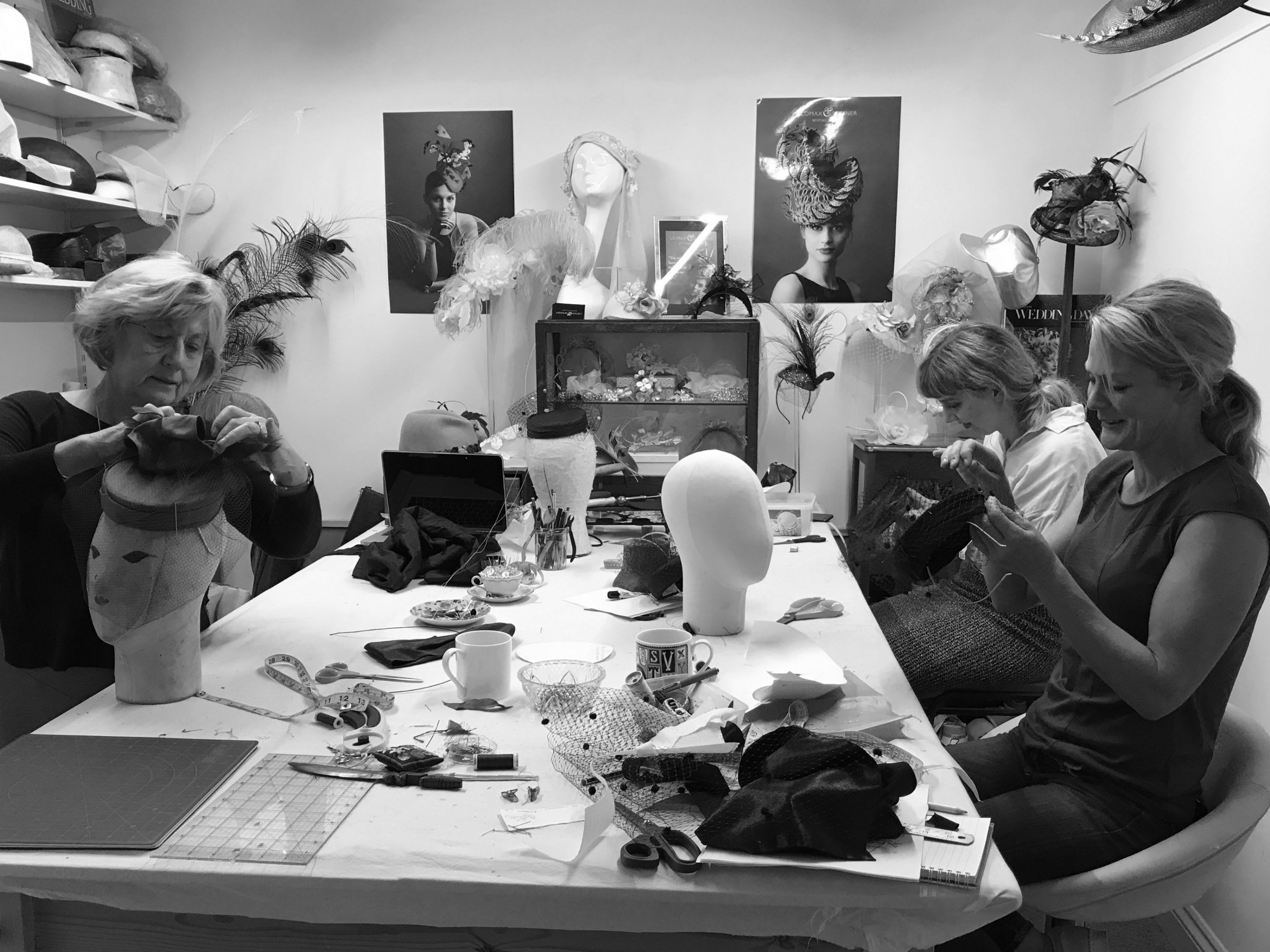 Millinery Courses at Lomax and Skinner